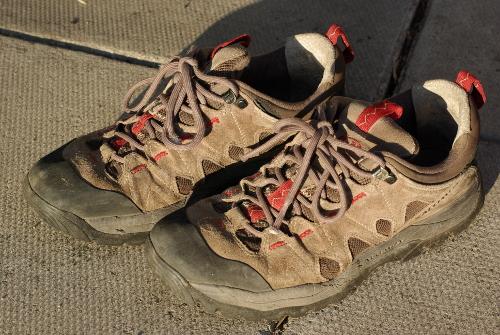 Buffed Shoes