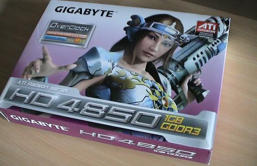 Gigabyte Radeon HD 4850 OC 1GB: GV R485OC 1GH