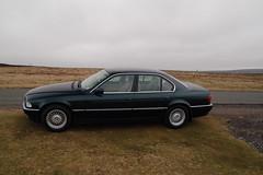 BMW 735i (E38) (Draco2008) Tags: auto car rural automobile bmw luxurycar 735 e38 735i oxfordgreen oxfordgreenmetallic