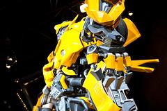 Bumblebee (saebaryo) Tags: nyc newyorkcity model nikon transformer autoshow bumblebee nikkor carshow newyorkinternationalautoshow 2470mm d700 nikond700 nikkor2470mmf28g