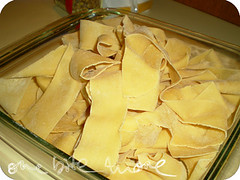 the pappardelle