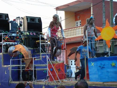 Carnival in Cosamaloapan, Mexico.