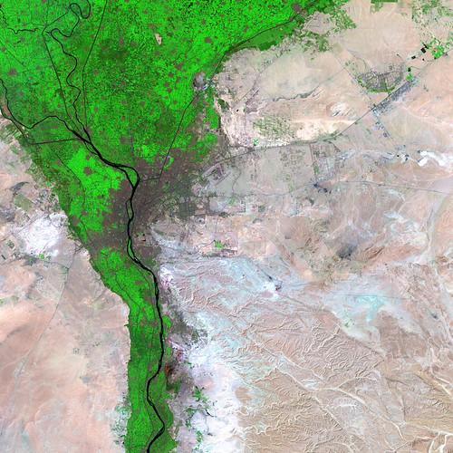 cairo satellite image