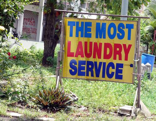 מכבסה בפרובינציית ריונג (Rayong)