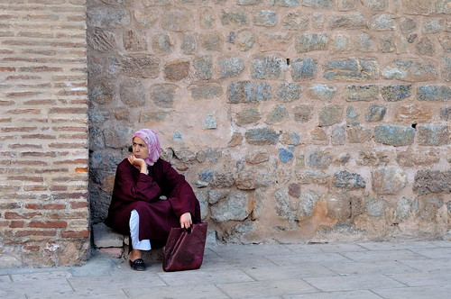 Waiting in Marrakech