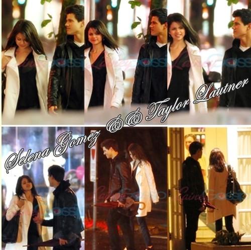 Selena Gomez And Taylor Lautner Kissing. Selena Gomez amp;amp; Taylor Lautner