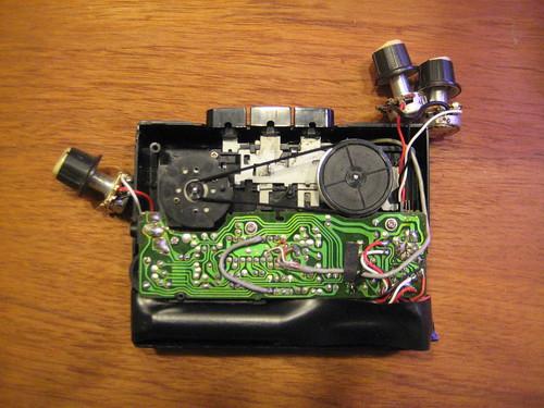 Circuit Bent Walkman w/speed control
