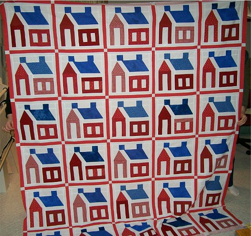 Karen's Schoolhouse Quilt