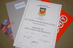 I'm a Master of Education Technology (well may...