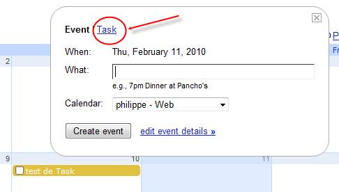 google task agenda