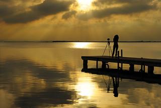 La soledad del fotógrafo ... / Photographer solitude ...