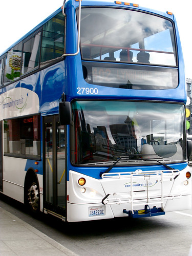 Community Transit 'Double-Tall' bus