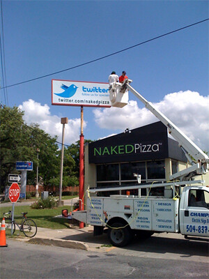 Local business success story Naked Pizza