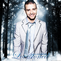 Justin Timberlake - Lovestoned (::AJ::) Tags: white snow man black sexy art nude aj photo official model album madonna picture cover single britneyspears mylove blend justintimberlake timbaland sexyback fanmade ithinksheknows futuresexlovesounds lovestoned blazingswarm