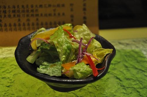 你拍攝的 生菜沙拉。