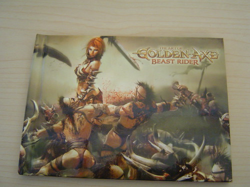 Golden Axe Beast Rider Art Book -- Free Stuff Friday - 5/29/09