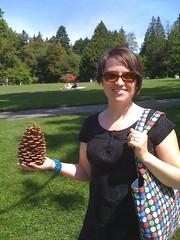 E with cone