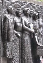 IMG_3651c (mollydot) Tags: christchurch sculpture monument bronze book bookcrossing release 1993 relief nz feminism feminist 1893 suffrage releasewalk2 katesheppardmemorial womenssuffragememorial