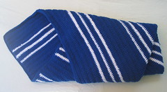 Baby Boy Blue Stripe Crochet Blanket 6 (DonidoDesigns) Tags: blue baby white handmade crochet stripe knit lap homemade blanket afghan etsy knitted crocheted cic lapghan cicteam craftingincolor