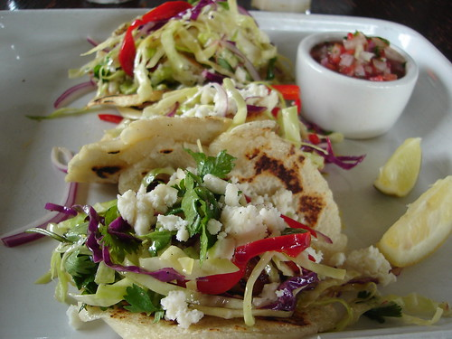 Fish Tacos at Hungry Cat