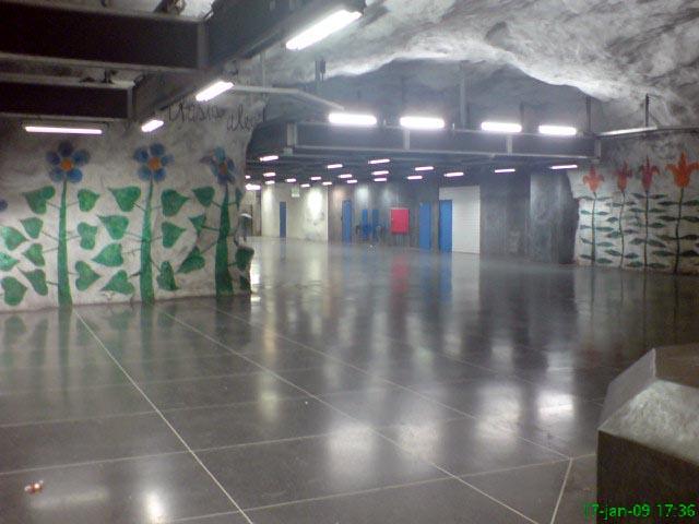 Tensta tunnelbanestation