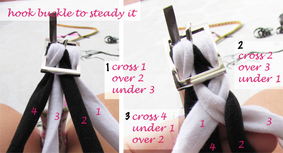 DIY-braided-jersey-belt-4