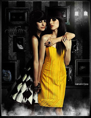 The Veronicas - Greed (kervinrojas) Tags: woman art phoenix rose del cat is mural order harry potter petal gato fenix greed blend veronicas orden rojas rosepetal the avaricia kervin artisawoman