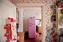 (Candy Pop) Tags: wood old uk pink england home kitchen floral vintage photography photo 1930s flickr candy kitsch retro photograph diningroom oxford habitat cottagestyle oxfordshire homesweethome oxon cathkidston shabbychic candypop candypopimages