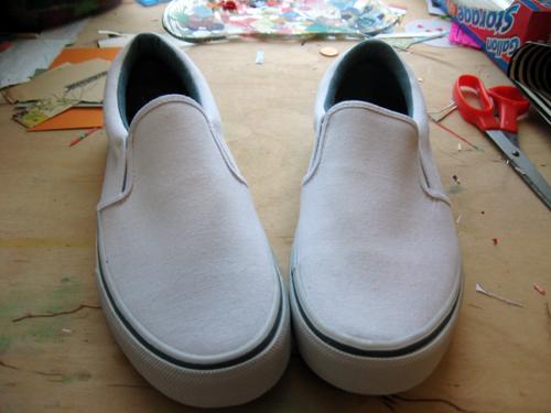 Tennis Shoes Shaped Like Feet