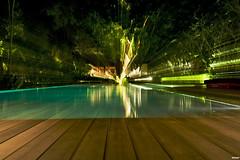Uma, Ubud, Bali (PeinLee) Tags: bali lights nikon zoom availablelight uma resort deck poolside ubud reportage swirling nikkor1735 d700