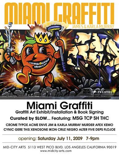 Miami Graffiti - Mid City Arts