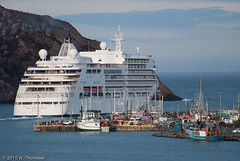 Silver Spirit VI (visual guy) Tags: cruise holiday canada newfoundland vacances ship urlaub stjohns registered leisure bahamas nassau kreuzfahrt schiffsreise silverspirit views200