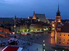 Sweet dreams, Warsaw ! (Agnieszka G.) Tags: night noche poland polska warsaw oldtown soe polonia warszawa palacioreal noc cascoviejo varsovia royalcastle staremiasto zamekkrlewski kartpostal citrit