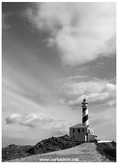 CF_0787_web (Carlos Flix) Tags: bw lighthouse faro felix carlos paisaje bn nubes menorca favaritx carlosfelix nubesnuvol