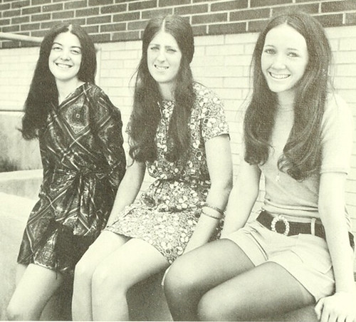 girls in the 70s
