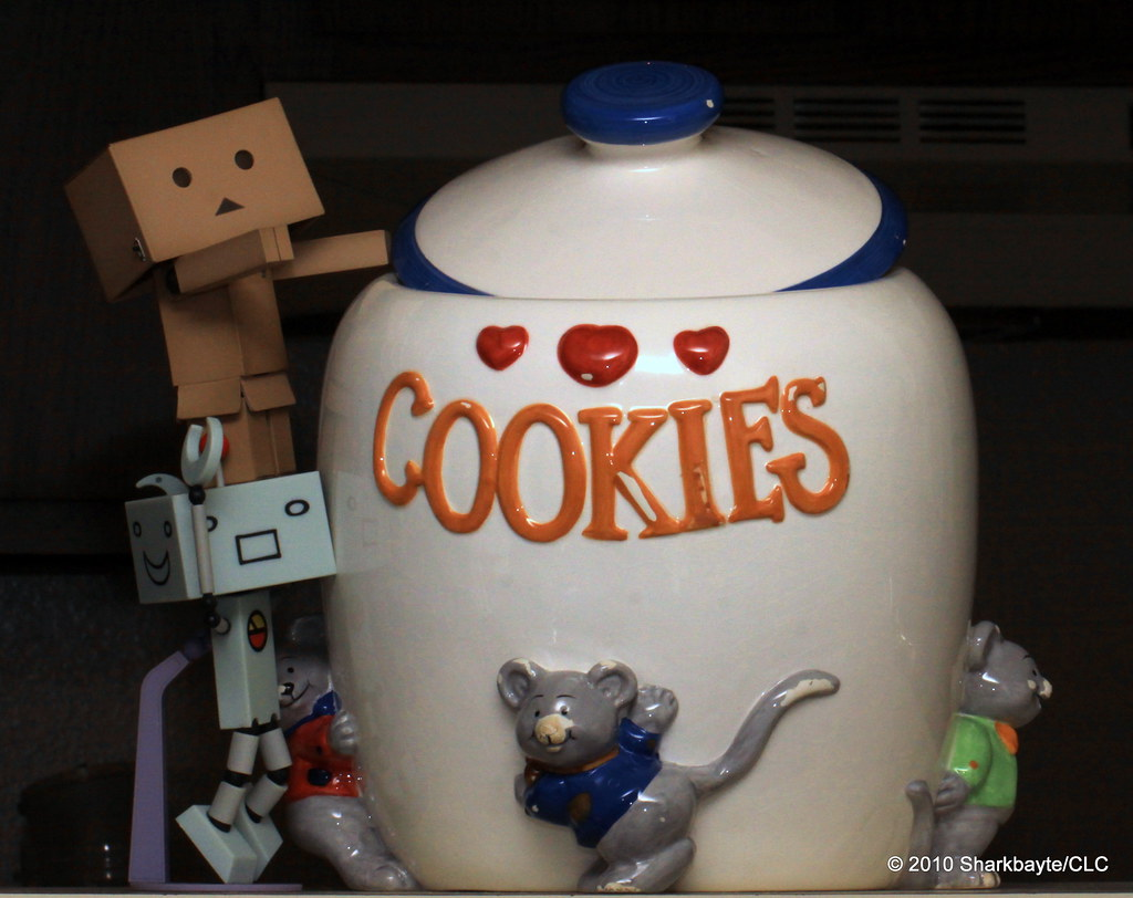 Day 143-Caught with his hand in the cookie jar!!
