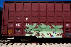 Fuck! Rollout! (TRUE 2 DEATH) Tags: street railroad streetart art train graffiti tag graf trains ham railcar spraypaint railways railfan freight nme freighttrain btr rollingstock benching freighttraingraffiti