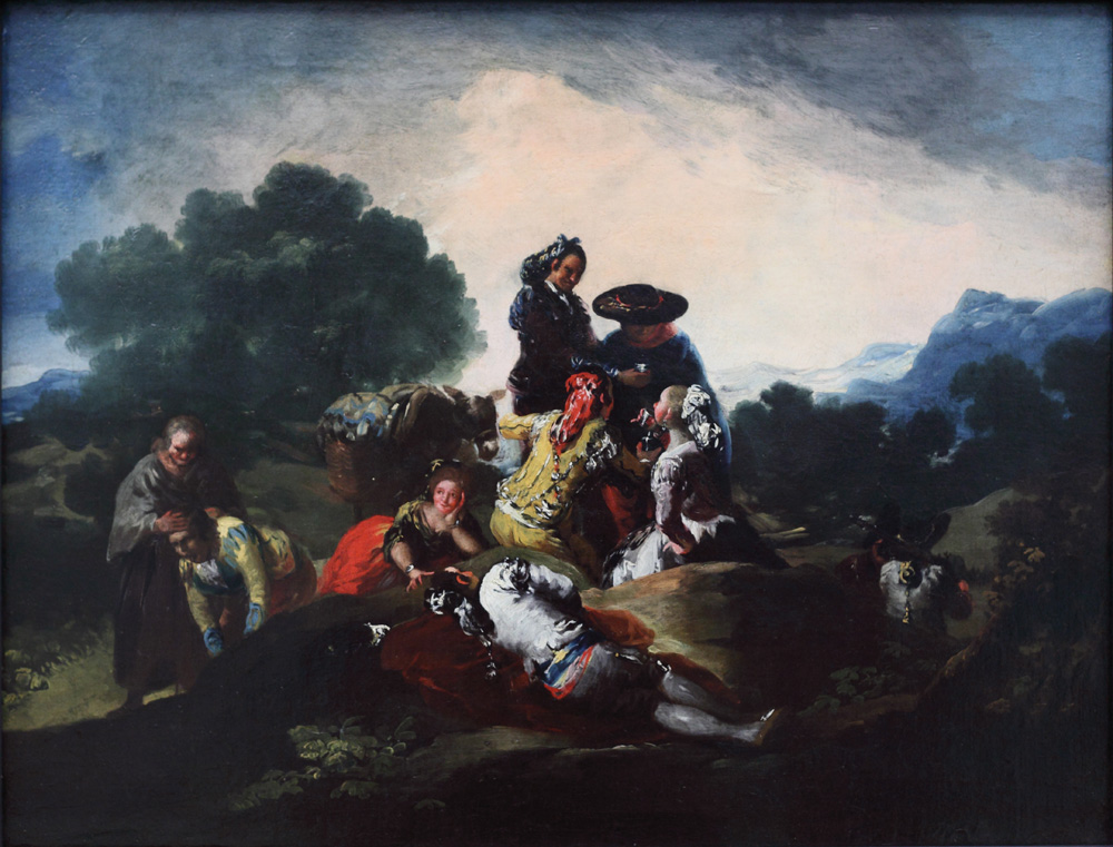 Francisco José Goya y Lucientes, Country Outing, 1776