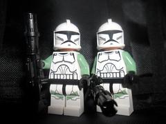 The 197th Legion: Troopers (General Magma) Tags: trooper star lego rifle wars clone troops legion blaster clonetrooper 197th dc15a the197thlegion