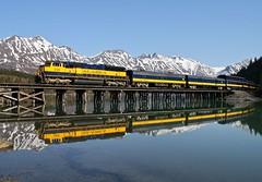 Moose Pass, Alaska (UW1983) Tags: alaska trains railroads alaskarailroad