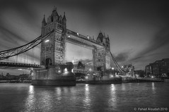 Tower Bridge b&w (Fahad Al oudah) Tags: china california from birthday park christmas street new city nyc uk trip travel family flowers blue winter wedding friends sunset red party summer vacation portrait england sky people bw italy music food usa white snow newyork canada paris france flower green london art beach nature water festival japan night canon germany fun photography concert spain nikon san francisco europe view desert you photos or go taiwan australia ape everyone fahad d5 d90 d3s d7000 aloudah