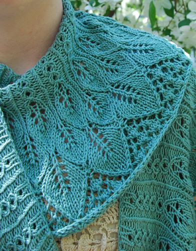 Free Cotton Knitting Patterns : New Pattern Release: Kudzu Shawlette Remily Knits