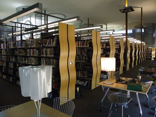 Shelving and seating -  Desert Broom Library