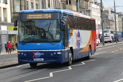 53294 - SP07 HHY (Cammies Transport Photography) Tags: street bus for volvo coach edinburgh fife dundee profile and princes stagecoach dunfermline glenrothes in plaxton 53294 x54 sp07hhy
