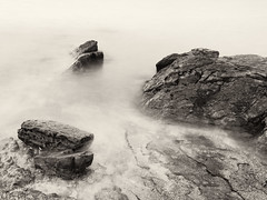 Rocks, Gullane Point (jamalrob) Tags: scotland rocks olympus east forth shore zuiko gullane lothian firth aberlady e510 1260