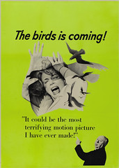 The Birds (1963) Canadian Advance Poster (Moviefan1014) Tags: birds taylor rod alfred hitchcock tippi hedren