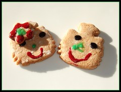 * verliebte kekse * (*Frulein Sabinchen*) Tags: love keks cookie liebe
