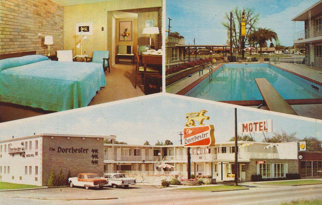 The Dorchester Motel - Detroit, Michigan