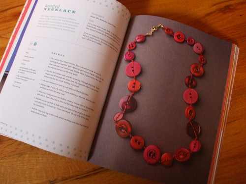 Button It Up - knotted necklace