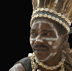 The warrior (Franco Ferri Mala) Tags: africa travel portrait black colour face nikon zanzibar d80 colorphotoaward aplusphoto memorycornerportraits